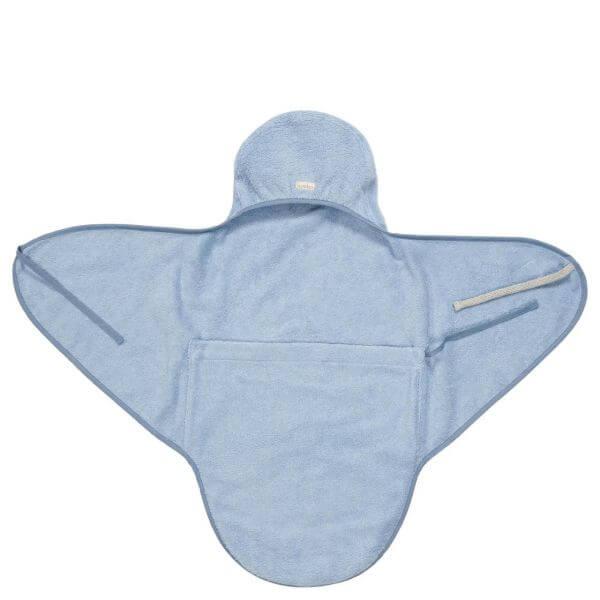 Koeka Umschlagtuch für Neugeborene Dijon Soft Blue