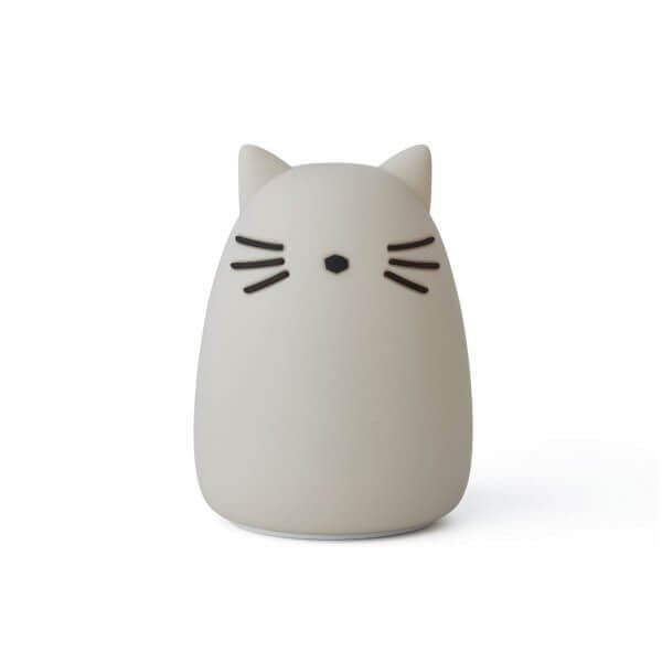Liewood Nachtlicht Winston Katze Grau