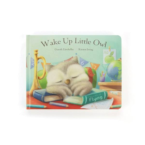 Jellycat Buch Wake Up Little Owl