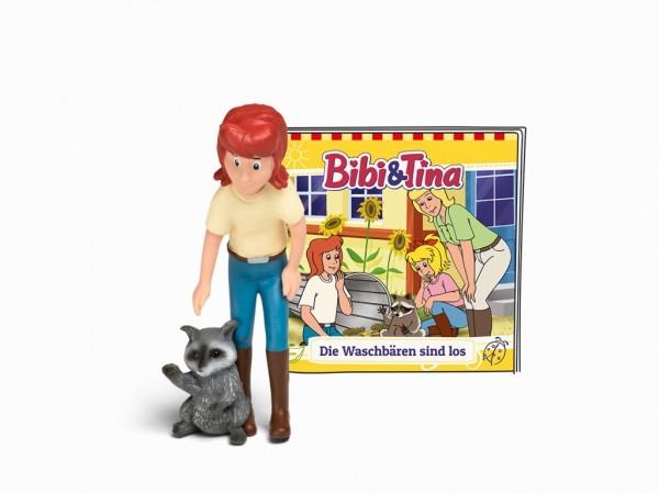Tonies Hörfigur Bibi und Tina die Waschbären sind los