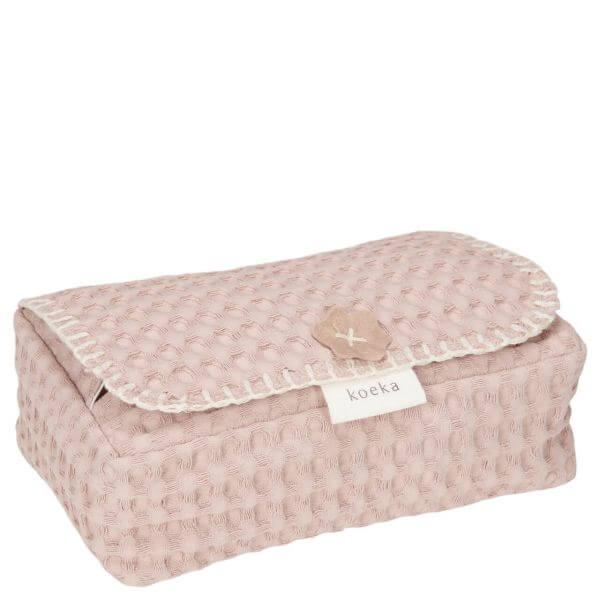 Koeka Bezug für Feuchttücher Antwerp Grey Pink_1015-10-032-422