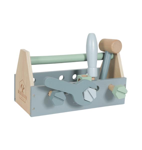 Little Dutch Holz Werkzeugkasten 20-teilig