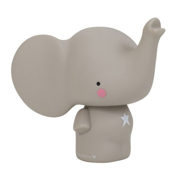 A Little Lovely Company Spardose Elefant Grau