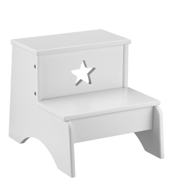 Kid's Concept Tritt 2-stufig Star Weiß