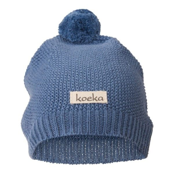 Koeka Baby Mütze Barley Blau