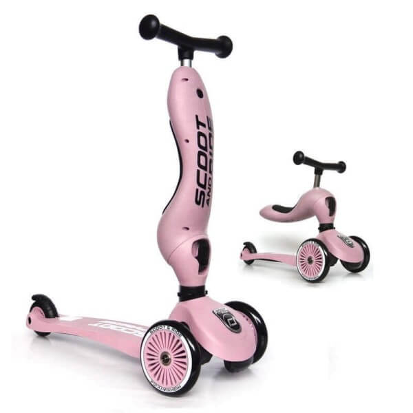 Scoot and Ride Roller 2-in1 Highwaykick 1 Rose