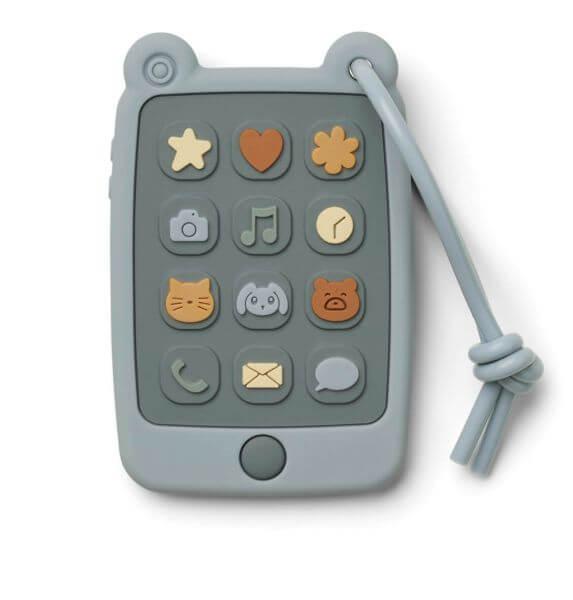 Liewood Spielzeug-Telefon Blau_LW12933-6900