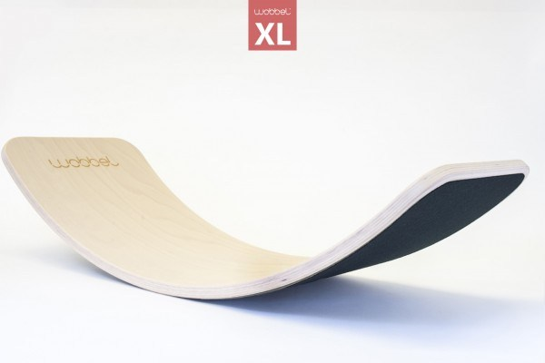 Wobbel Balance Board Holz