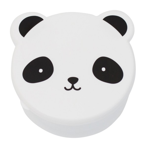 A Little Lovely Company Snackbox 4er-Set Panda