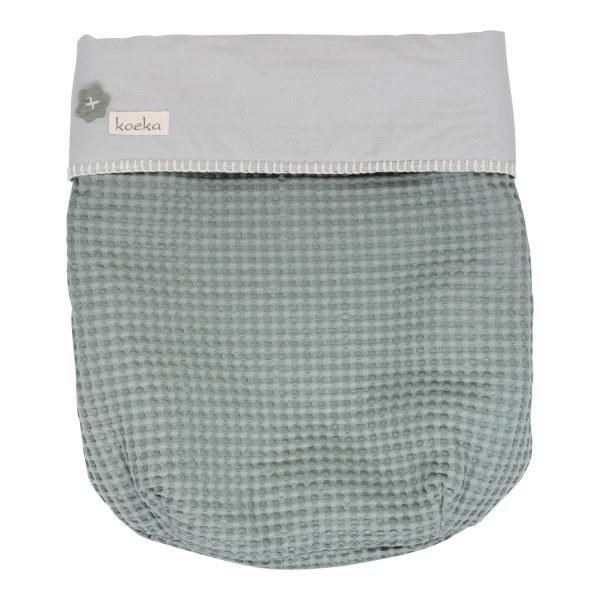 Koeka Babydecke Antwerp (Maxi cosi) sapphire/silver grey