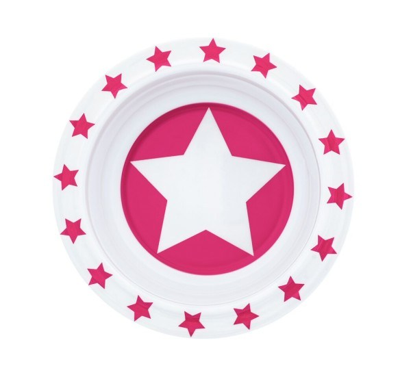 Pimpalou Schüssel Melamin Stars Pink