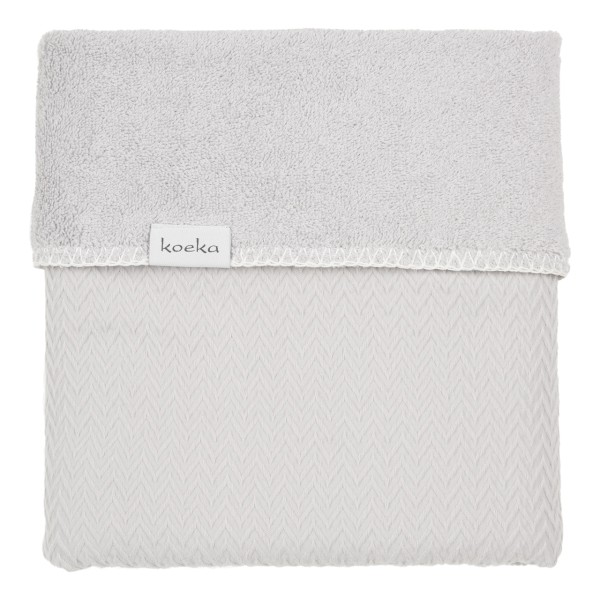 Koeka Babydecke Stockholm Silver Grey