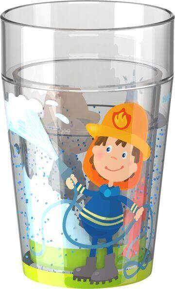 HABA Glitzer Becher Feuerwehr