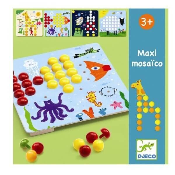 Djeco Steckspiel Maxi Mosaik