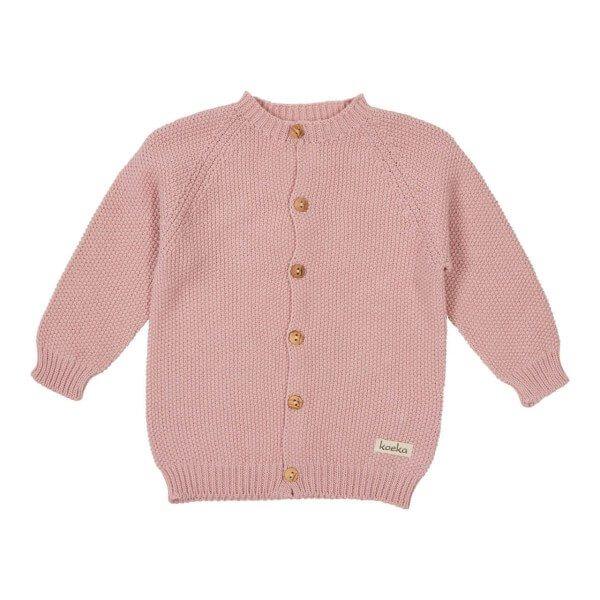 Koeka Strickjacke Barley Dusty Pink