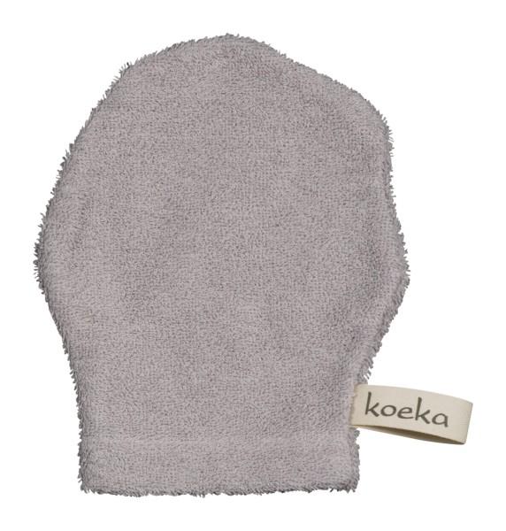 Koeka Waschlappen Rome silver grey