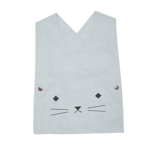 "Fabelab Lätzchen Aquamarine ""Cuddly Cat"""