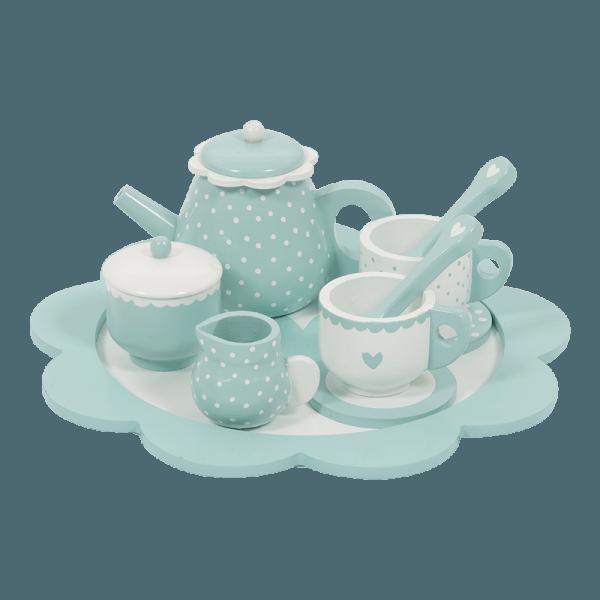 Little Dutch Teeservice aus Holz Mint